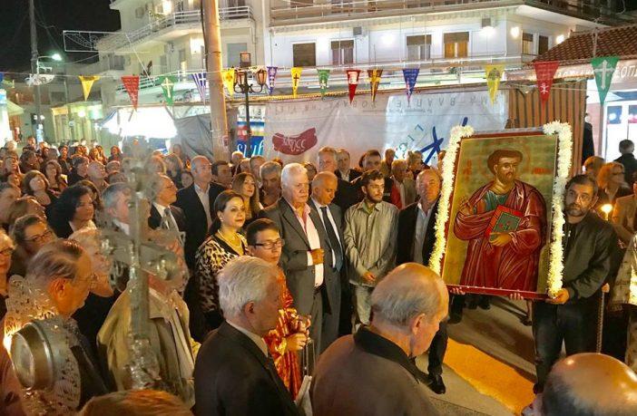 Θρησκευτικές και Εορταστικές Εκδηλώσεις του Δήμου Ορχομενού προς τιμήν του Ευαγγελιστή Λουκά