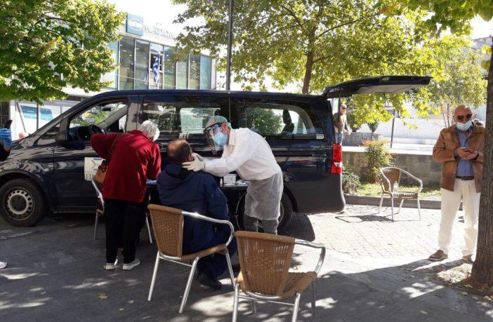 Κορονοϊός : 2 θετικά δείγματα rapid tests στην Λιβαδειά - 31 ενεργά κρούσματα