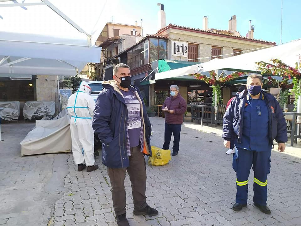 Κορονοϊός : Μαζικά δωρεάν rapid test  για τον κορωνοϊό στο Δήμο Διστόμου Αράχωβας Αντίκυρας το Σαββατοκύριακο