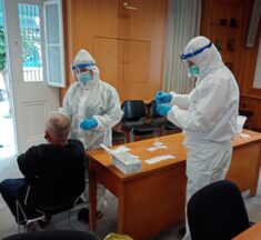 Συνεχεία των τεστ ανίχνευσης κορονοϊού στο Δ. Λεβαδέων