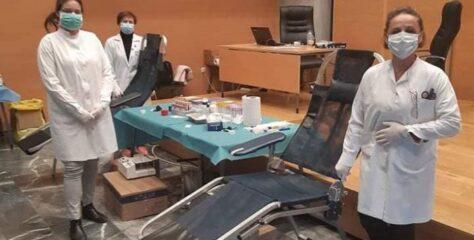 Στο Διοικητήριο το τμήμα αιμοδοσίας του Νοσοκομείου Λιβαδειάς