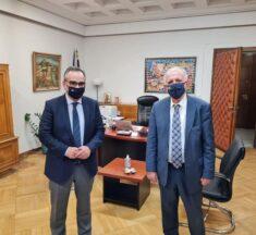 Συνάντηση Α. Κουτσούμπα με τον Αν. Υπουργό Υγείας Β. Κοντοζαμάνη